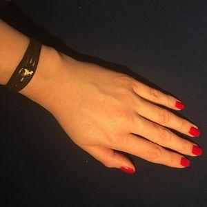 Other - VIRGO leather wrap bracelet zodiac astrology